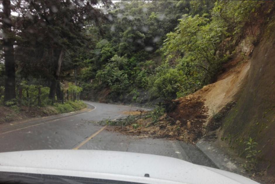 Entre derrumbes y daños a la infraestructura se reportaron. (Foto: Conred)