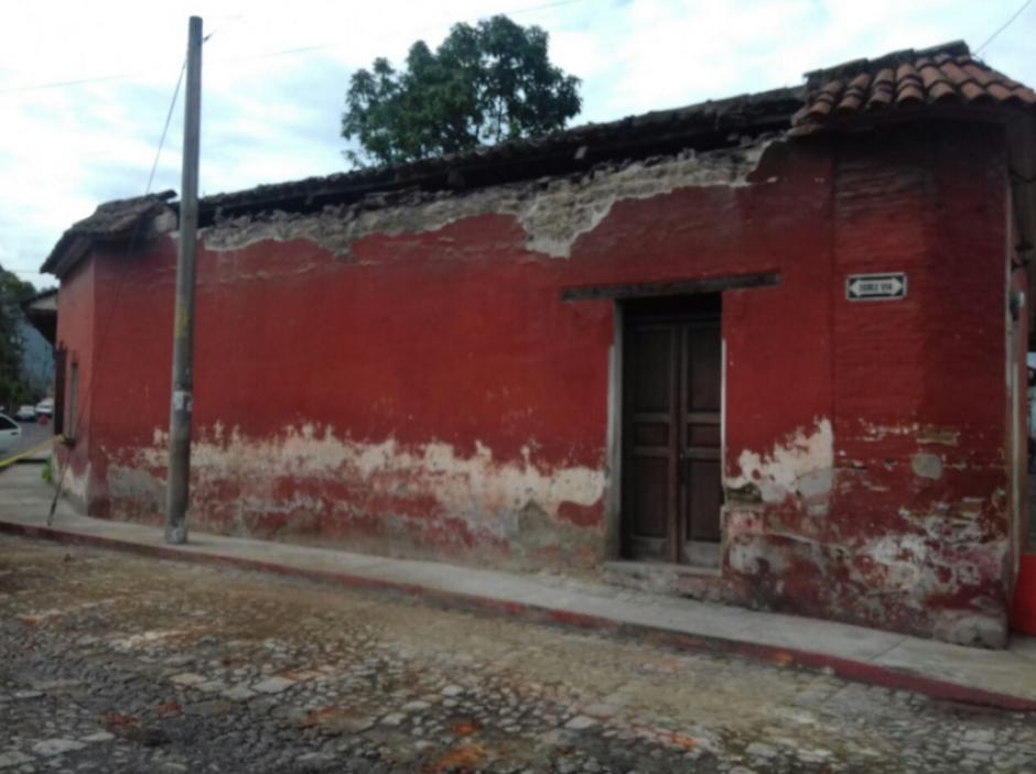 La ciudad de Antigua Guatemala también sufrió daños. (Foto: Conred)
