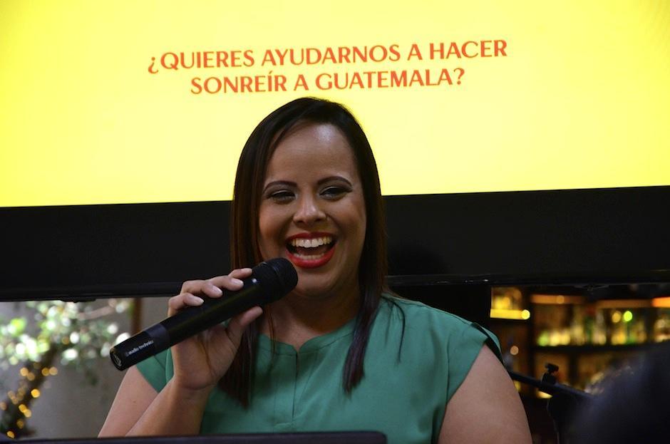 Carol Lanza, gerente de marca de Lay's Caribe y Centroamérica, te invita a participar. (Foto: Selene Mejía/Soy502)