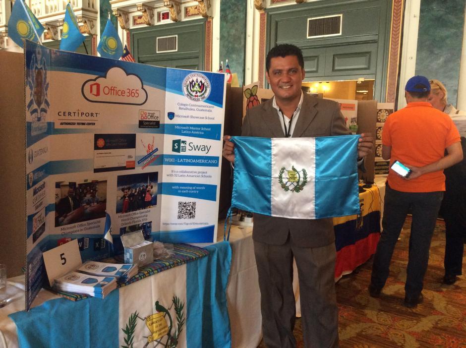 Ha participado en eventos internacionales de tecnología. (Foto: Microsoft)