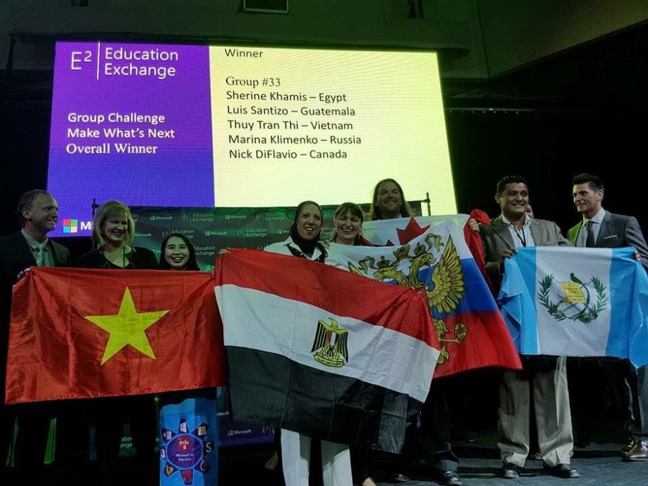 Este año ganó el Educator Exchange de Microsoft. (Foto: Microsoft)