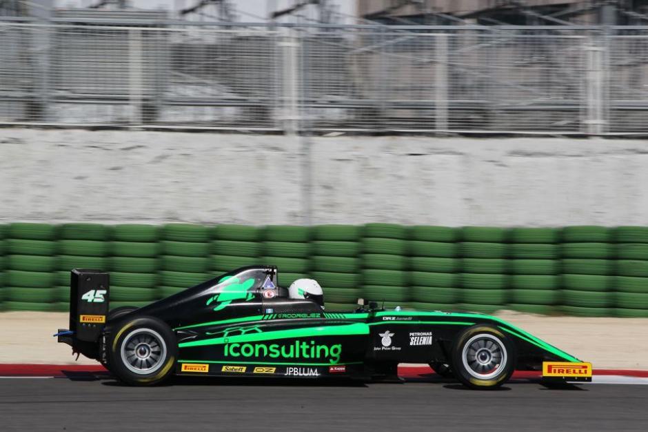 Rodríguez subió a la posición 11 de la competencia automovilística. (Foto: Ian Rodríguez)
