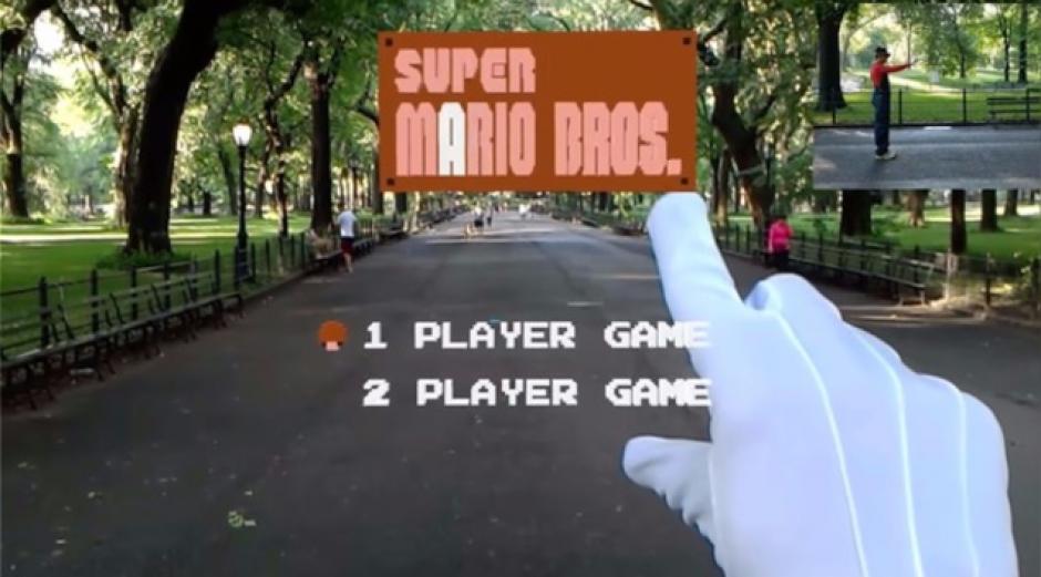 Puede verse el menú principal del juego. (Captura de pantalla)