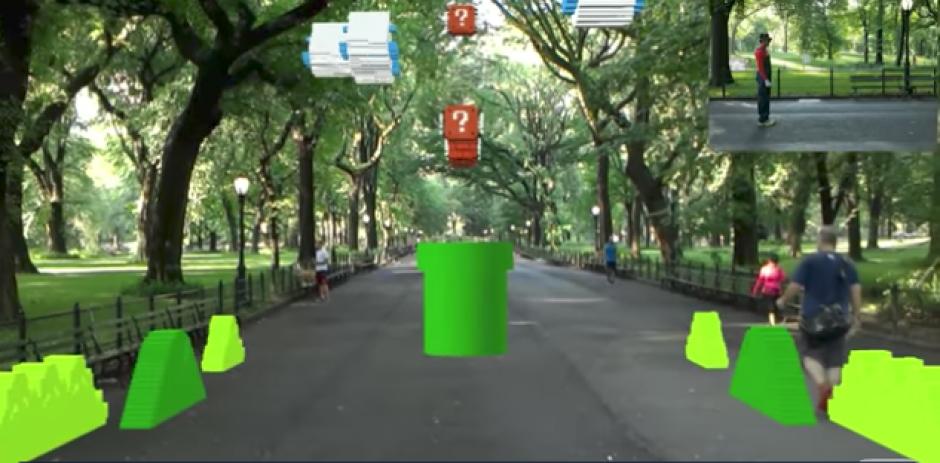 El estadounidense Abhishek Singh utilizó la tecnología para recrear el primer nivel del clásico juego. (Captura de Pantalla)