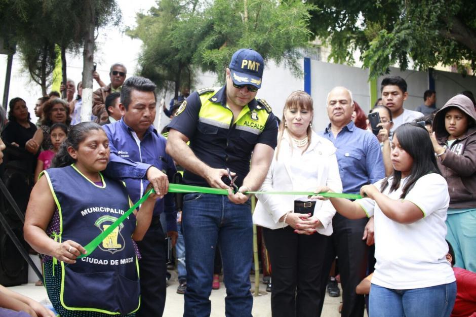 Los vecinos y el alcalde esperan que el proyecto sea de mucha ayuda. (Foto: Muni de Mixco)
