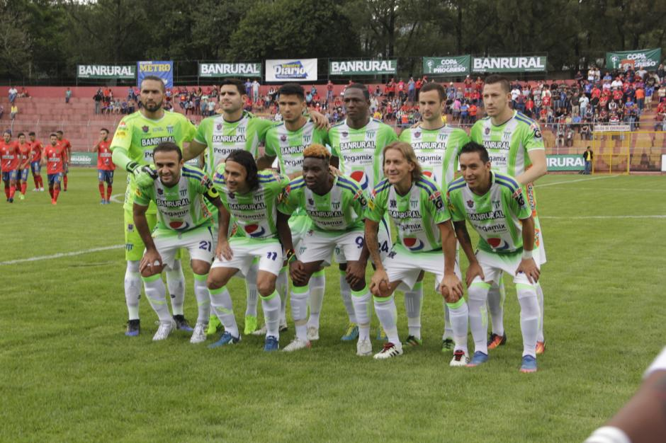 Michel Salgado salió como titular con Antigua GFC. (Foto: Fredy Hernández/Soy502)