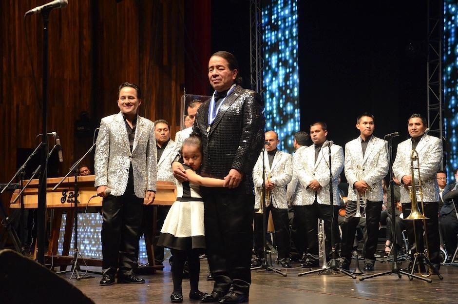 En 2014, el maestro Fidel Funes fue homenajeado por la Orquesta Sinfónica Nacional. (Foto: Selene Mejía/Soy502)