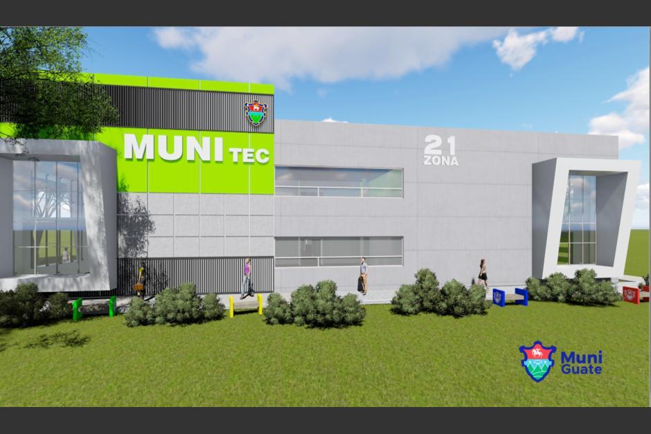 Se espera que el próximo año abra sus puertas a los vecinos de la zona 21. (Foto: Muni de Guatemala)