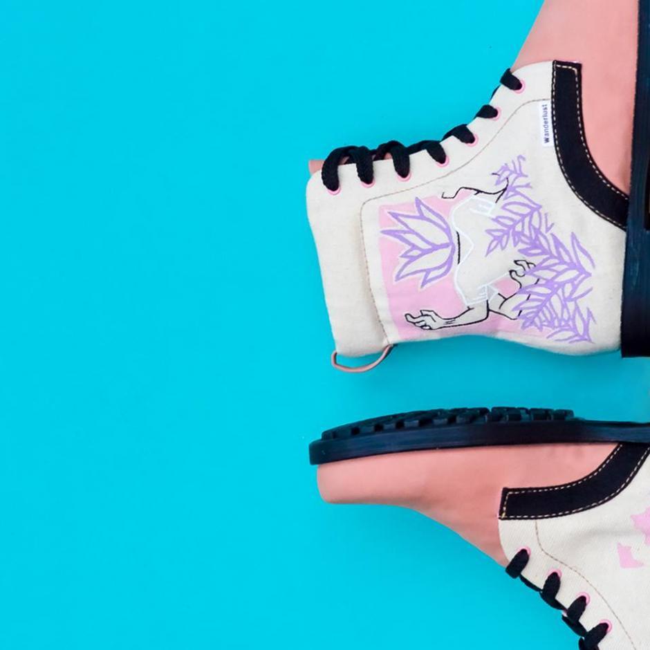 Estas botas tienen el toque de Ikuzu. (Foto: Wanderlust Wear)