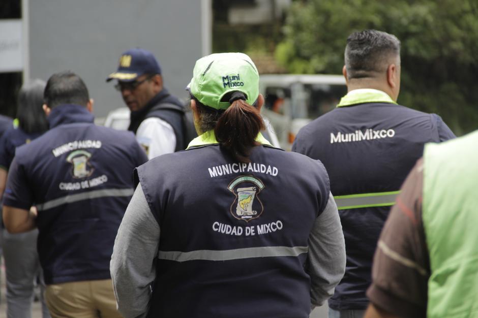 El operativo buscaba sancionar a las personas que utilizaban el área sin autorización. (Foto: Fredy Hernández/Soy502)