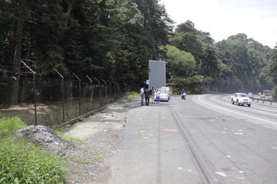 El sector se encuentra a inmediaciones del kilómetro 22 hacia San Lucas. (Foto: Fredy Hernández/Soy502)