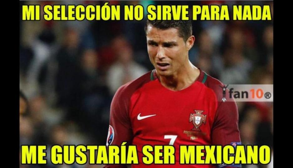 Cristiano ahora quiere ser mexicano. (Foto: Twitter)