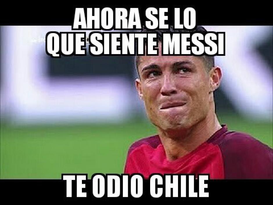 Te odio Chile. (Foto: Twitter)