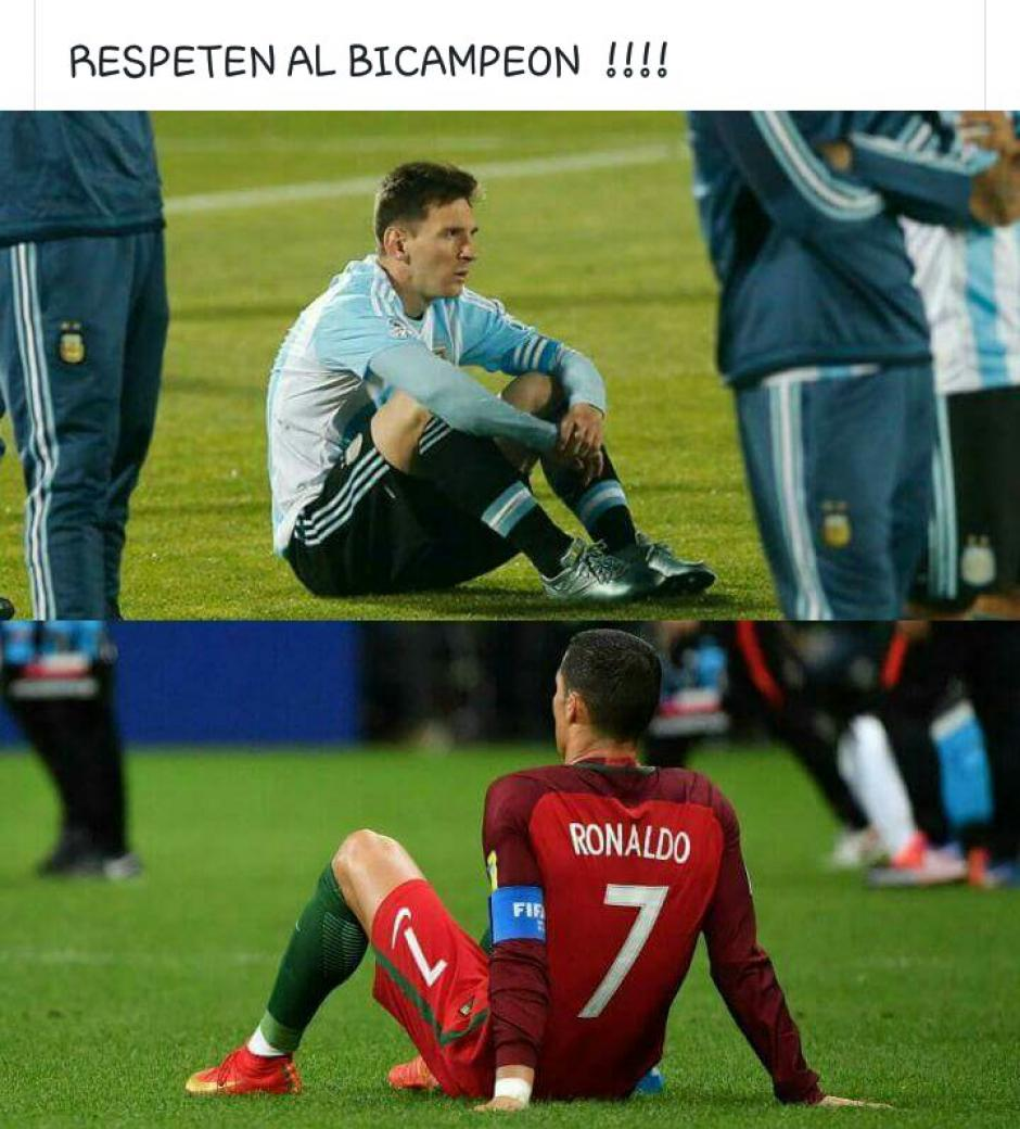 Chile dejó en el camino a Messi y Cristiano. (Foto: Twitter)