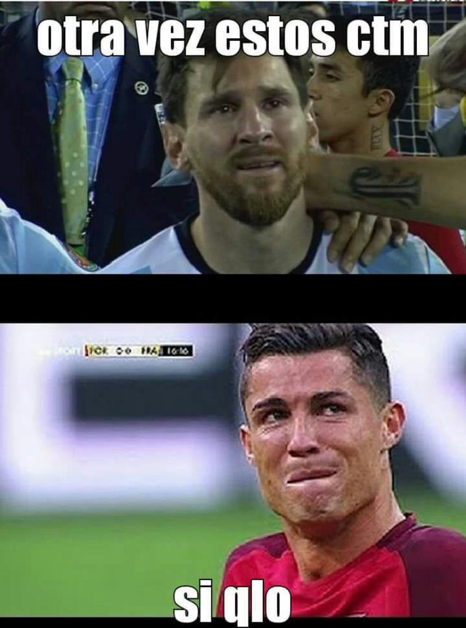 Messi comprende a Cristiano, bueno se comprenden mutuamente. (Foto: Twitter)