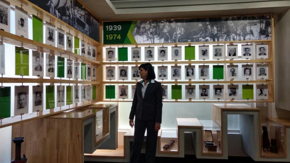 El objetivo de la exposición es dar a conocer el legado que hay detrás de la industria del cemento. (Foto: Juliet Cabrera/Soy502)