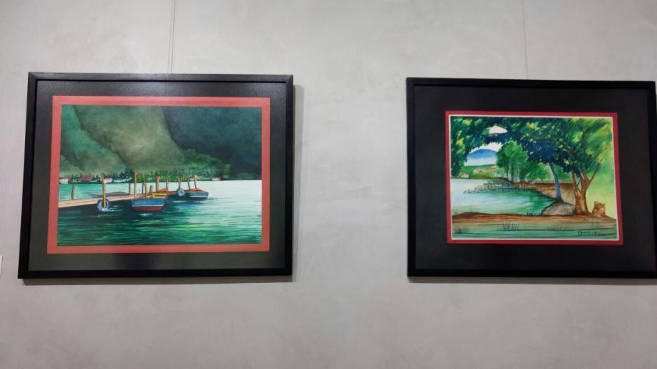 Distintas pinturas decoran las paredes del Museo Carlos F. Novella. (Foto: Juliet Cabrera/Soy502)