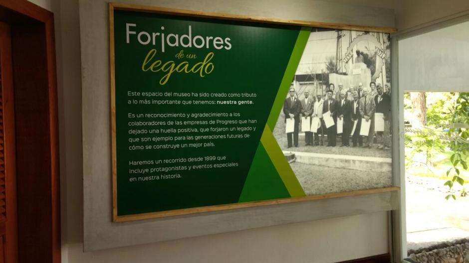 Este nuevo espacio del Museo está dedicado a los colaboradores de la empresa. (Foto: Juliet Cabrera/Soy502)