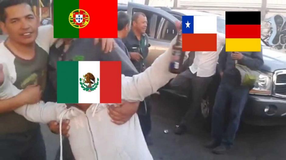 Con esa goleada, México se despide de la copa confederaciones. (Foto: Twitter)
