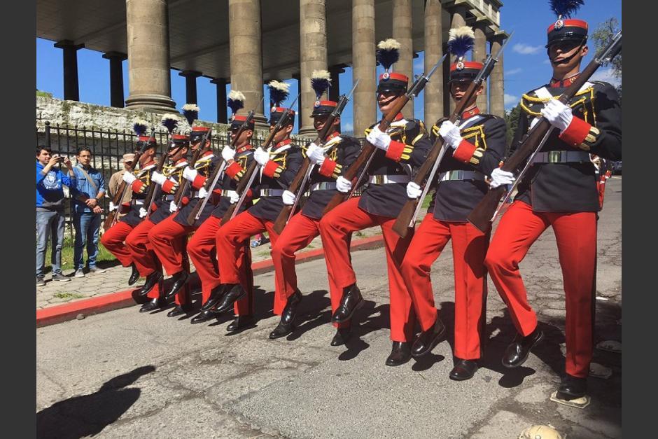 Así fue la celebración del Día del Ejército en la ciudad altense. (Foto: AGN)