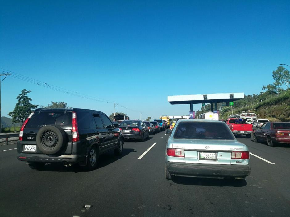 Con el paso de las horas el tráfico puede variar. (Foto: Wilder López/Soy502)