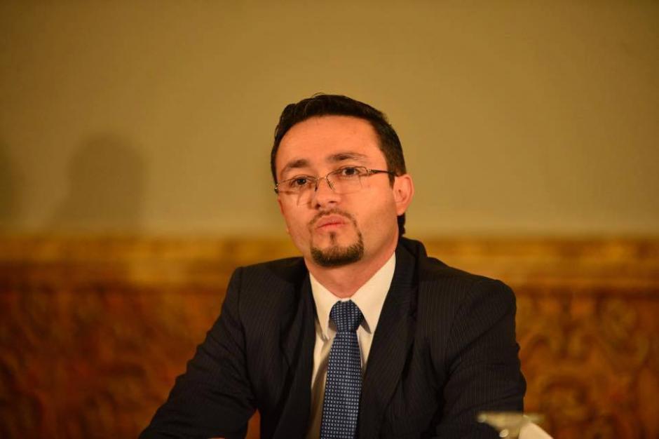 El registrador general de la Propiedad encabezó el equipo de transición de Jimmy Morales. (Foto: Archivo/Soy502)