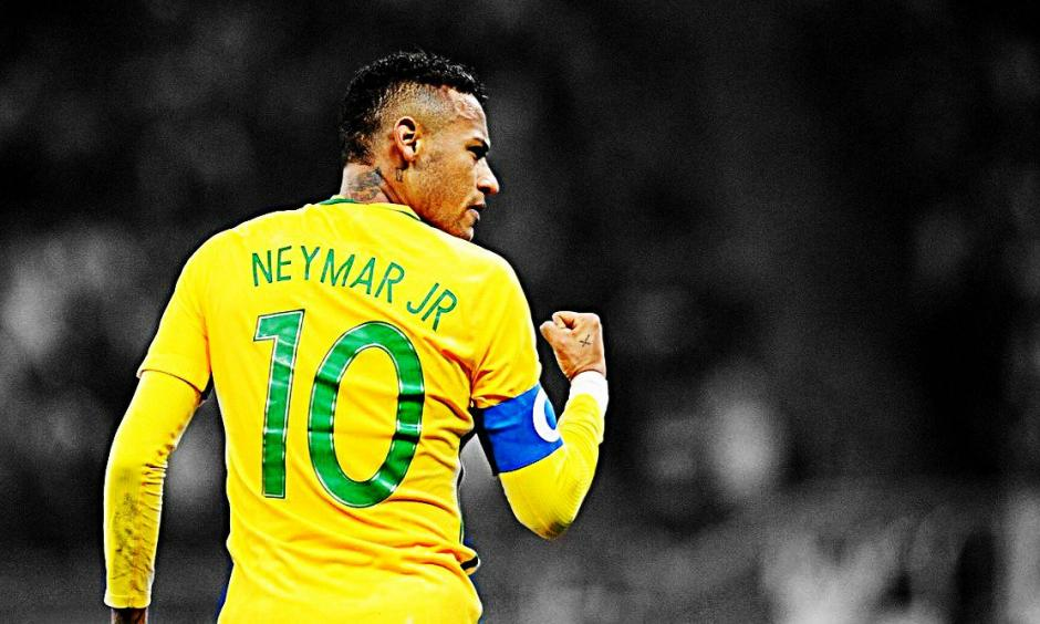 Neymar marcó un golazo frente a Uruguay. (Foto: Twitter)