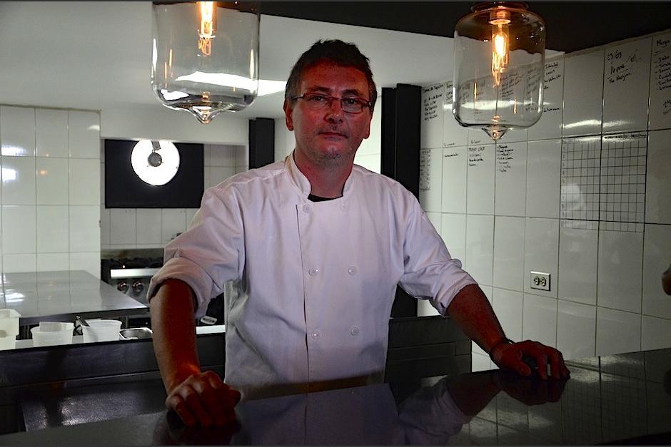 El chef español Andoni Luis Aduriz se encuentra en Guatemala. (Foto: Selene Mejía/Soy502)