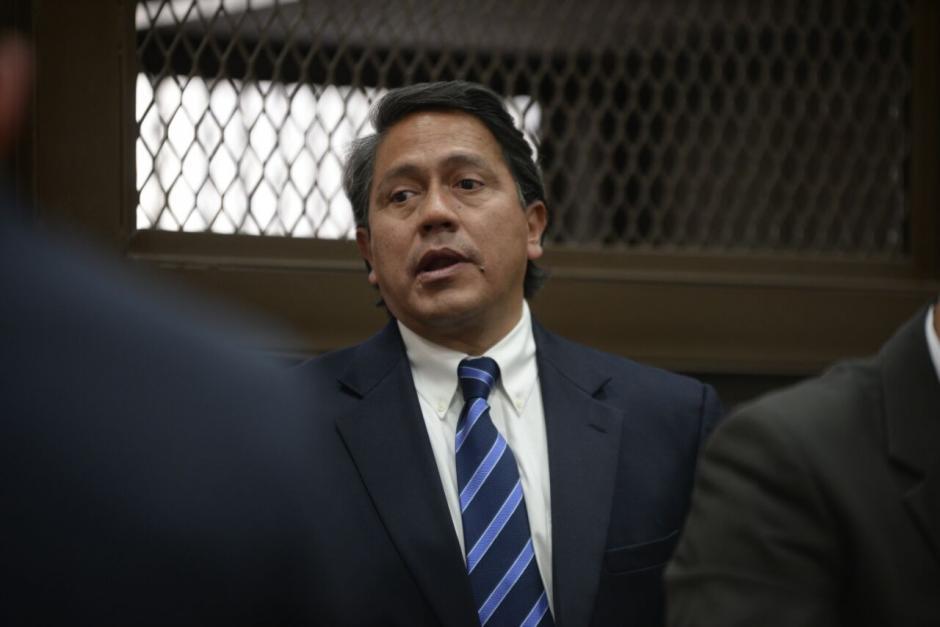 Juan David Alcázar se presentó a la Torre de Tribunales. (Foto: Wilder López/Soy502)