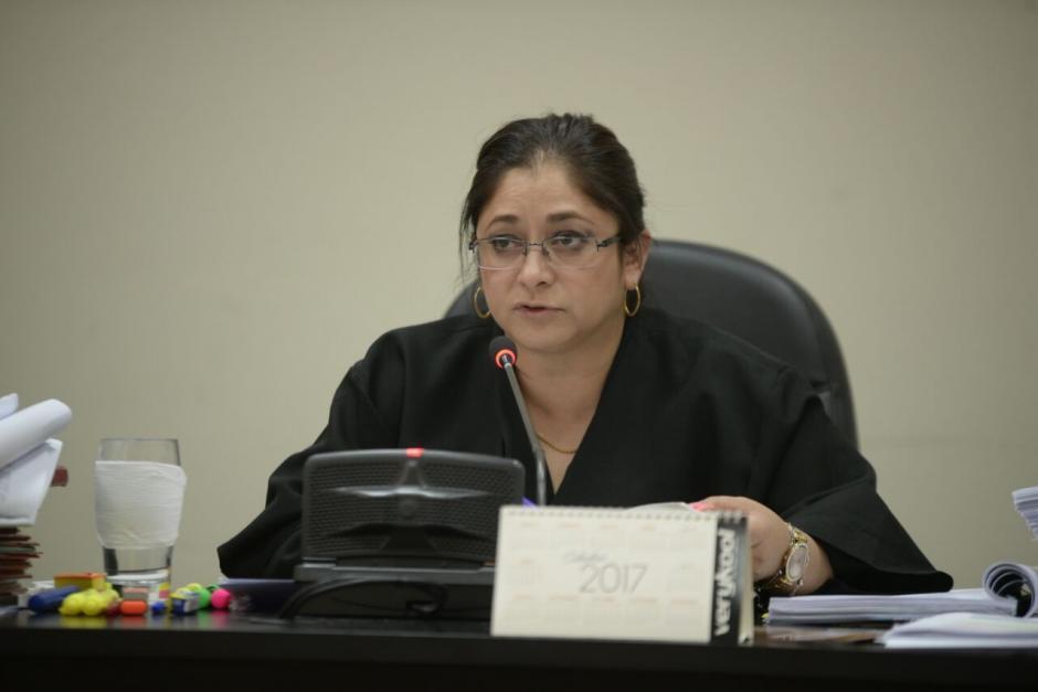 La jueza de Mayor Riesgo A, Claudette Domínguez, lleva este caso. (Foto: Wilder López/Soy502)