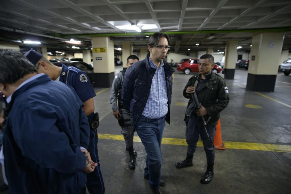 Aleksander Castillo, exdiputado del PP, fue arrestado este miércoles. (Foto: Wilder López/Soy502)