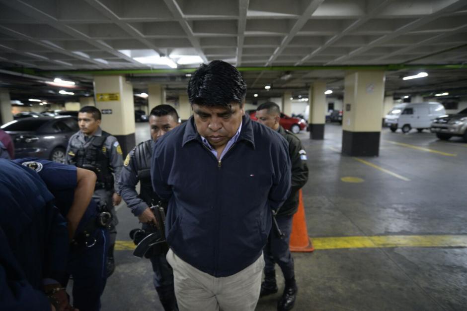 Manuel García Chutá, exdiputado del PP, es acusado de la contratación de plazas fantasma. (Foto: Wilder López/Soy502)