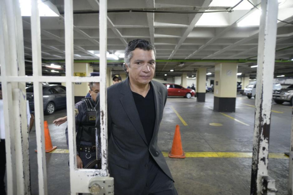 Martínez además es el yerno del expresidente Otto Pérez Molina, también bajo arresto. (Foto: Wilder López/Soy502)