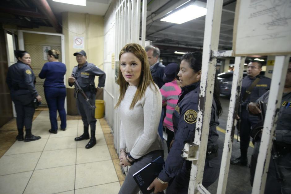Beltranena llegó a tribunales este jueves. (Foto: Wilder López/Soy502)