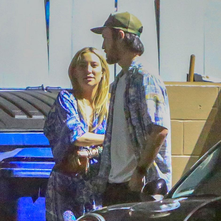 La pareja también fue captada junta con anterioridad. (Foto People.com)