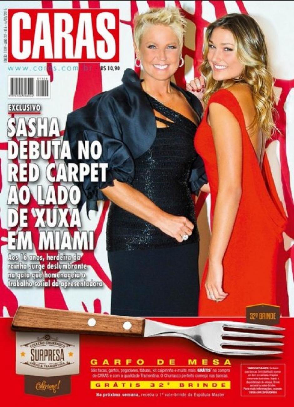 Xuxa y su hija Sasha Meneghel son noticia en el mundo. (Foto: Instagram)