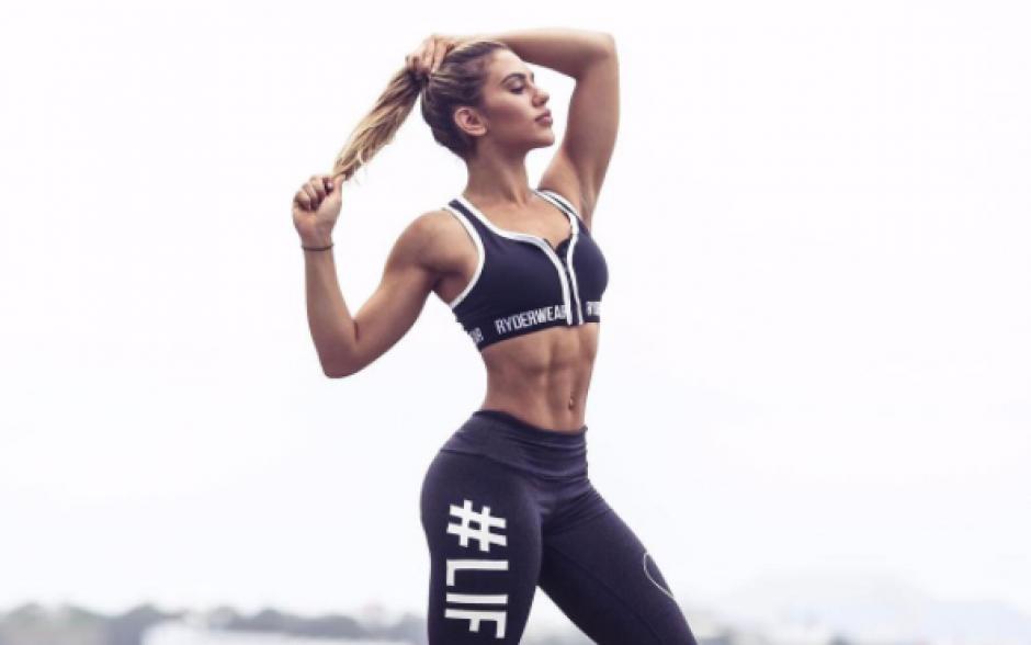 La joven es amante del deporte. (Foto: Instagram)