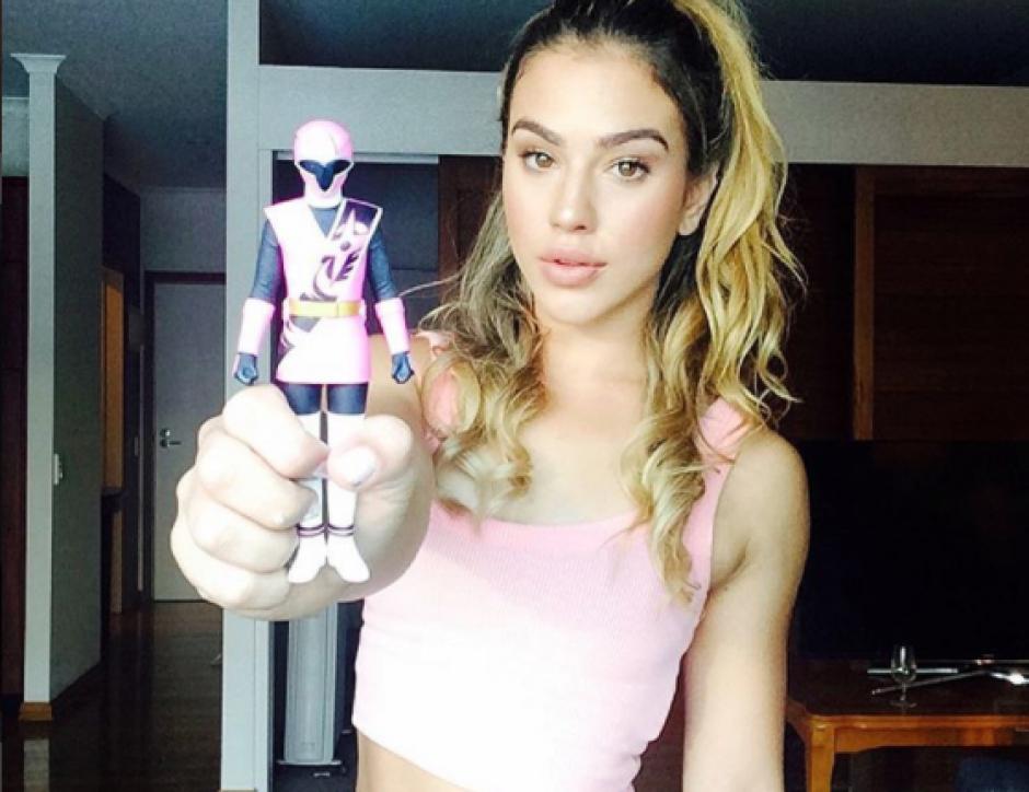 Chrystie Ane interpreta a la Ranger Rosa en Power Ranger: Ninja Steel. (Foto: Instagram)