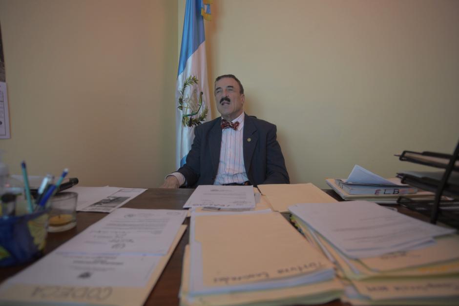 El legislador se opone al jefe de la CICIG y al embajador de Estados Unidos. (Foto: Wilder López/Soy502)