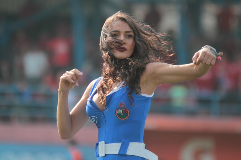 Kimberly agradece el apoyo de los fanáticos del fútbol nacional.  (Foto: Soy502)