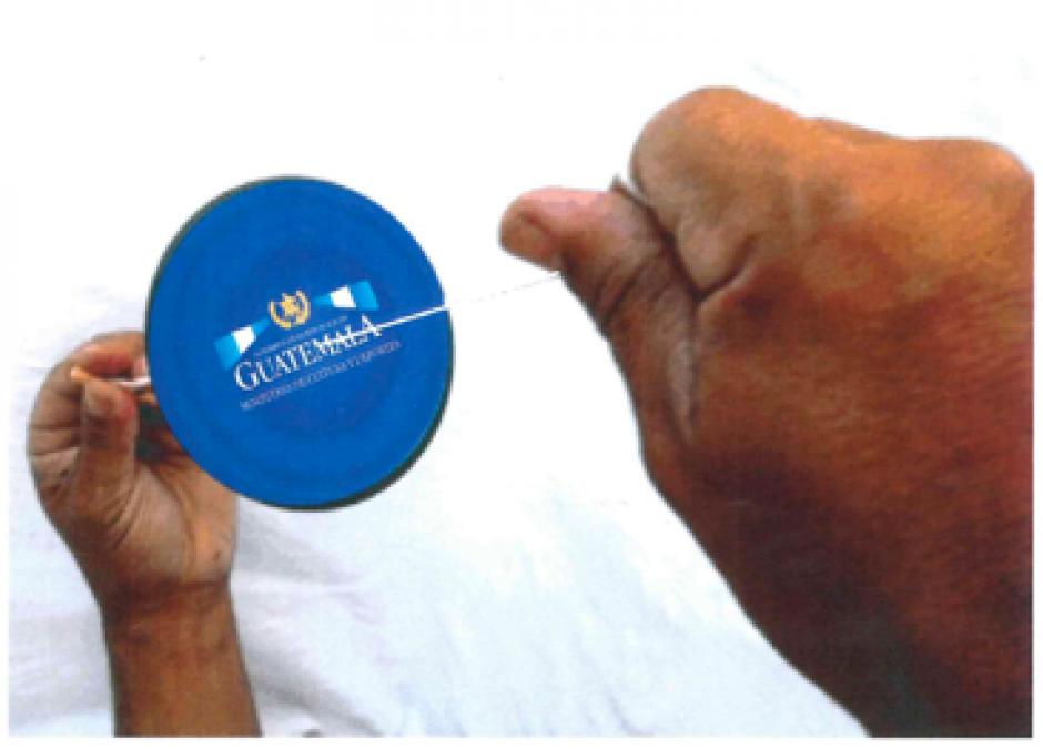 Los 300 chajaleles que quieren son de 7.5 centímetros, de plástico y con luz. (Foto: Ministerio de Cultura y Deportes)