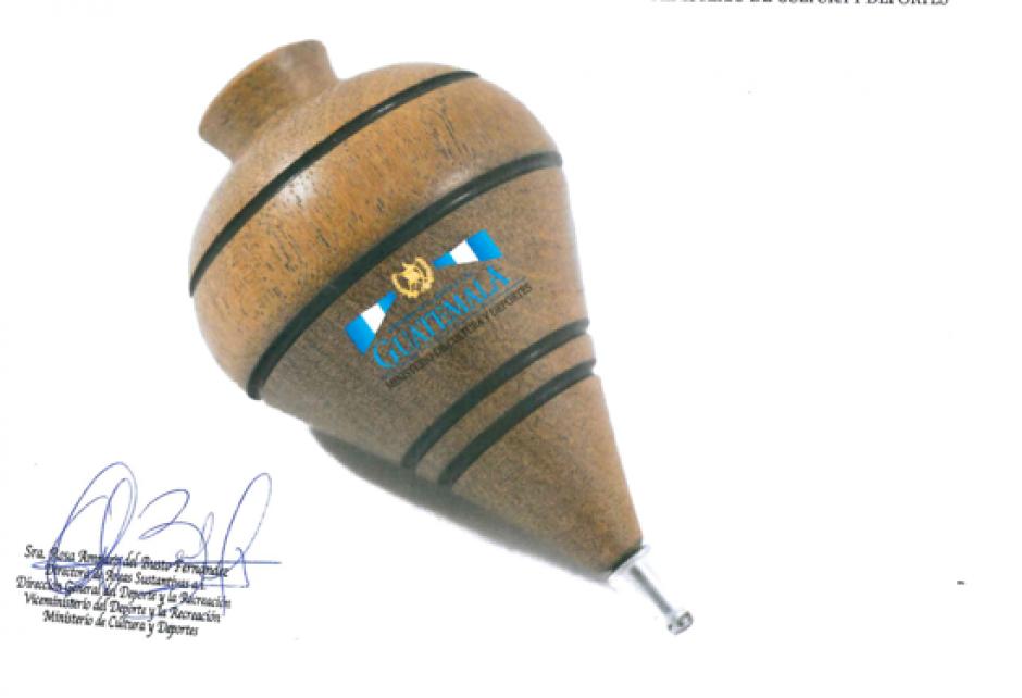 El Ministerio de Cultura desea adquirir 300 trompos de 7.5 centímetros de alto, madera de guayabo y punta de metal. (Foto: Ministerio de Cultura y Deportes)