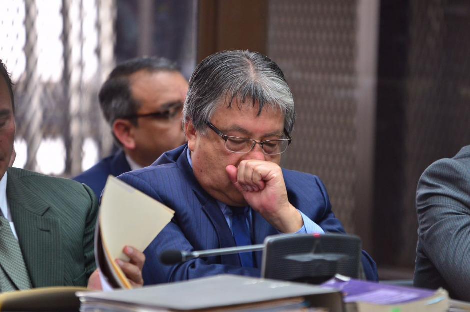 César Fajardo es actual diputado independiente y estuvo en las filas de la UNE. (Foto: Jesús Alfonso/Soy502)