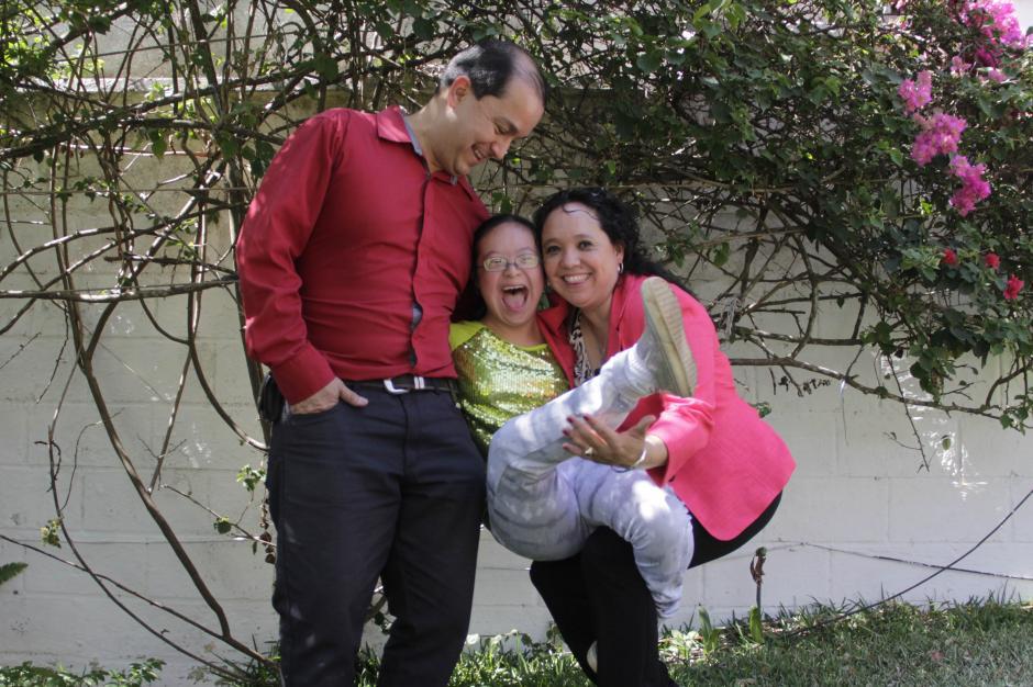 Natalia nació con Síndrome de Down pero está lista para superar cualquier barrera. (Foto: Fredy Hernández/Soy502)
