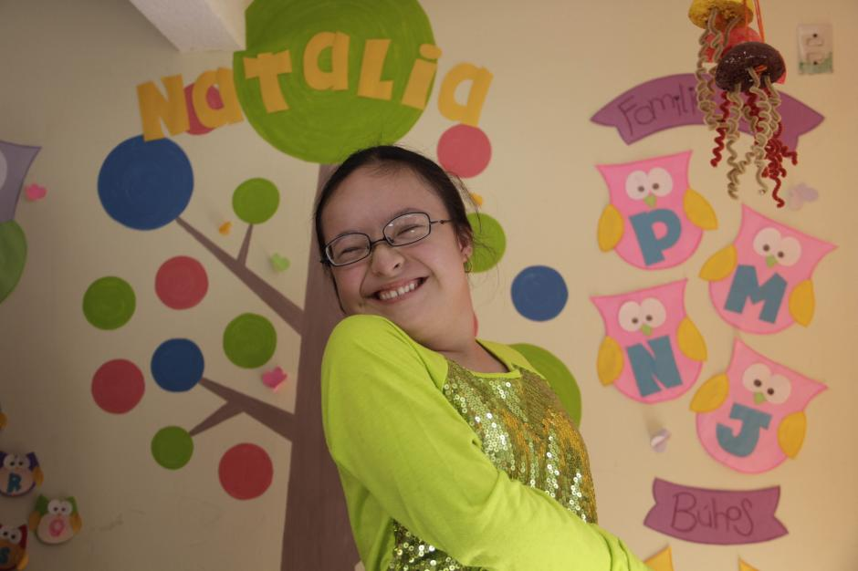 Natalia es una niña independiente y muy cariñosa. (Foto: Fredy Hernández/Soy502)
