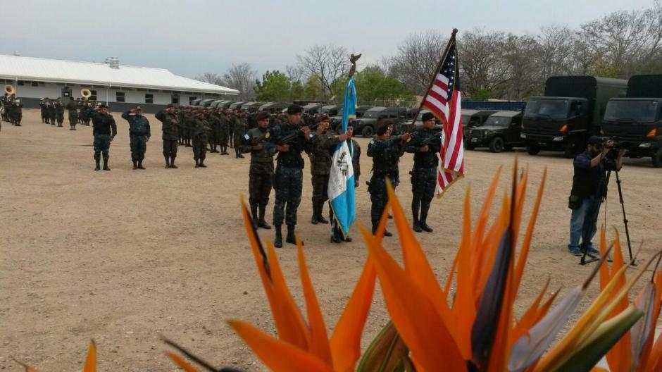 La Fuerza de Tarea Chortí en Zacapa combate al narcotráfico. (Foto: MinGob)