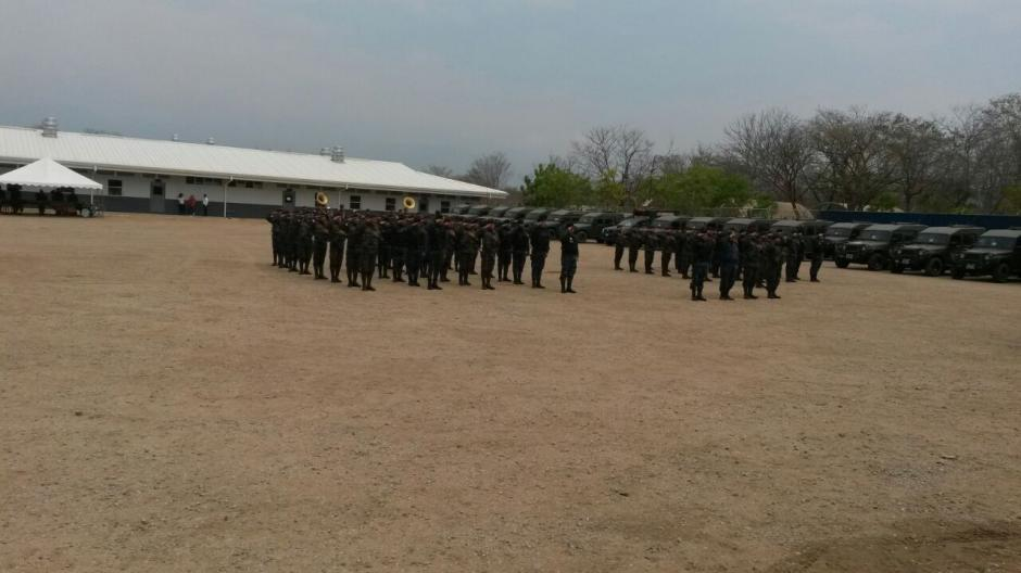 La Fuerza de Tarea Chortí contrarresta redes ilícitas transnacionales que amenazan la región. (Foto: MinGob)