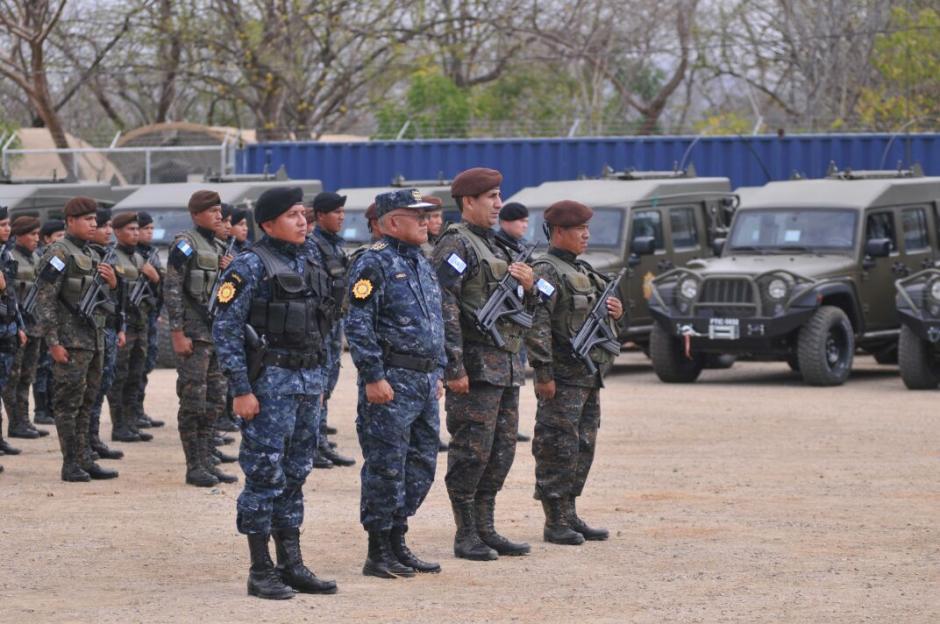 La Fuerza de Tarea Chortí vigila fronteras con El Salvador y Honduras. (Foto: MinGob)