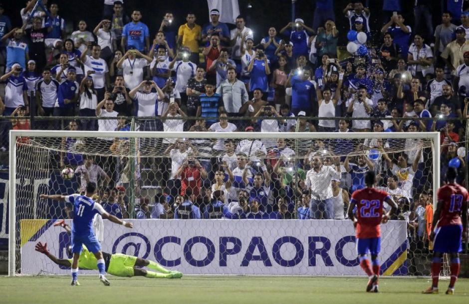 Su primer gol del juego lo consiguió al minuto 84. (Foto: AFP)