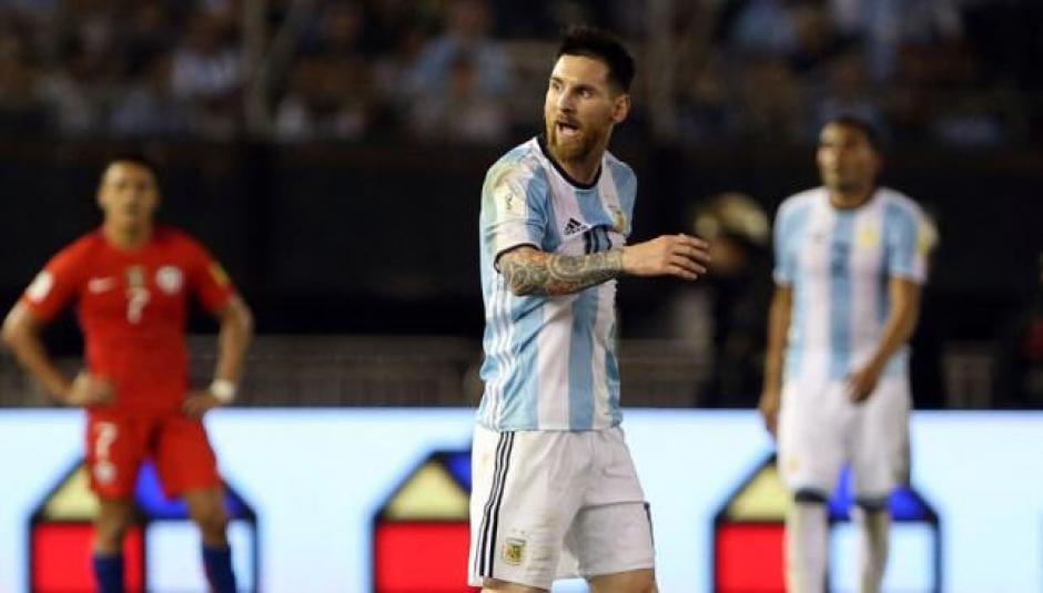 El capitán argentino fue sancionado con cuatro juegos de suspensión. (Foto: Twitter)